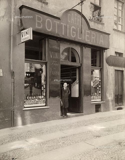 Caffè and wine bar, Turin.