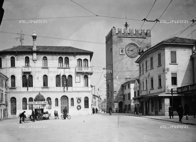 Clock Tower, Piazza Ferretto, Mestre