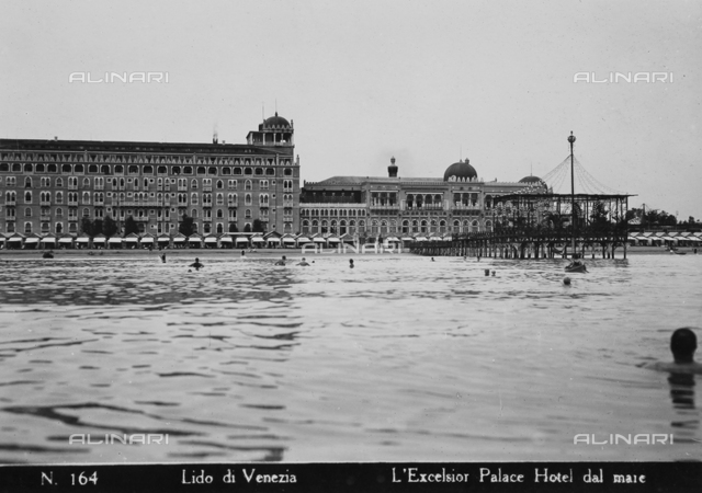 The Grand Hotel Excelsior, Lido in Venice