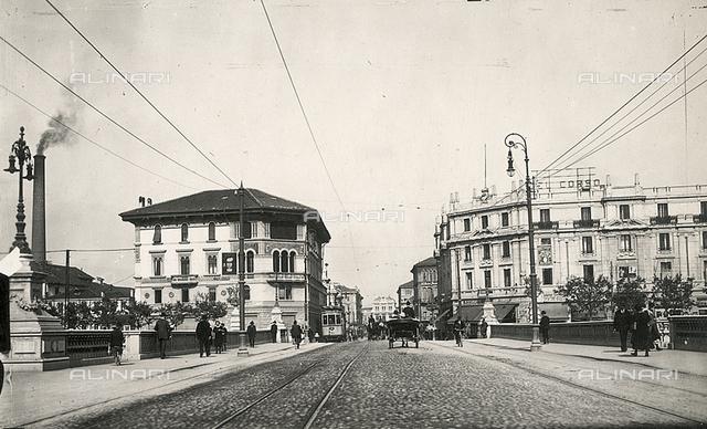 Animated view of Corso del Popolo in Padova