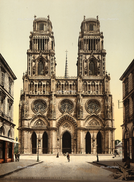 Cathedral of the Holy Cross, Orleans, France