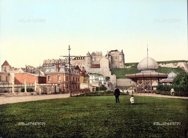 Castle, Dieppe, France