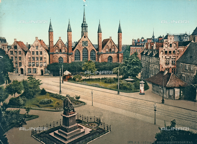 Hospital of St. Spirit (Heilig-Geist-Hospital), Lubeck