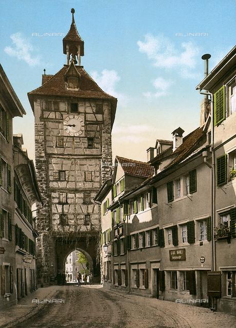 Tower Gate, Husenstrasse, Constance, Germany