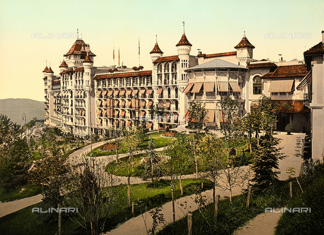The Palace Hotel in Caux, Switzerland.