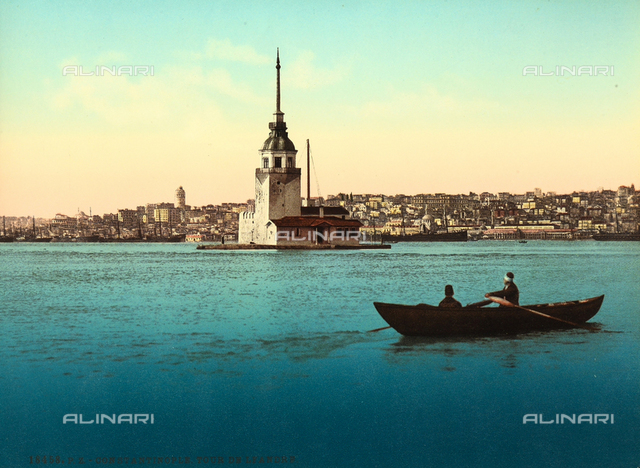 View of Istanbul from the sea.