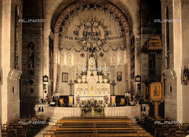 Church of Notre Dame d'Afrique, interior, Algiers