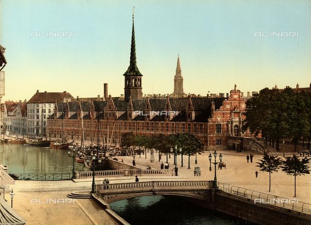 Stock Exchange Palace, Copenhagen, Denmark.