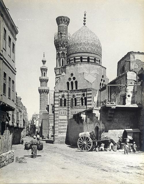 Ibrahim Agha mosque in Cairo, Egypt