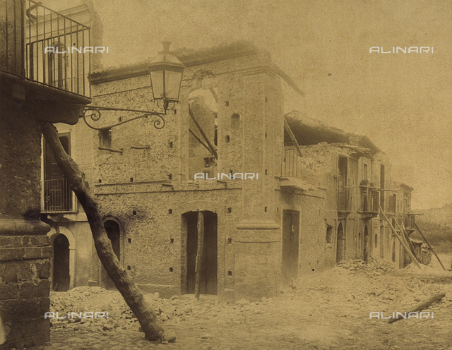 Earthquakes of November 16, 1894 in Seminara in Calabria