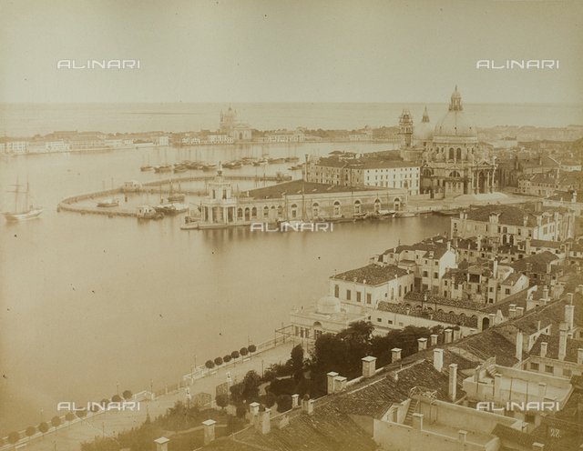 Panorama of Venice from the Bell tower of San Marco