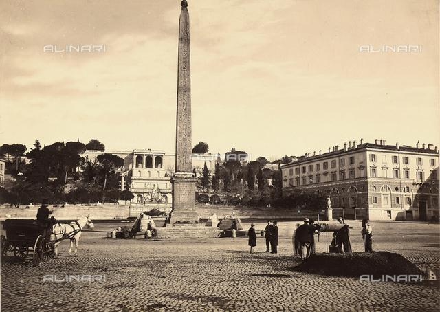 Rome. Piazza del Popolo