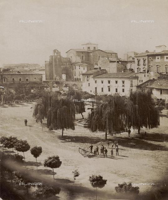 Piazza Garibaldi (formerly Piazza Maggiore), Sulmona