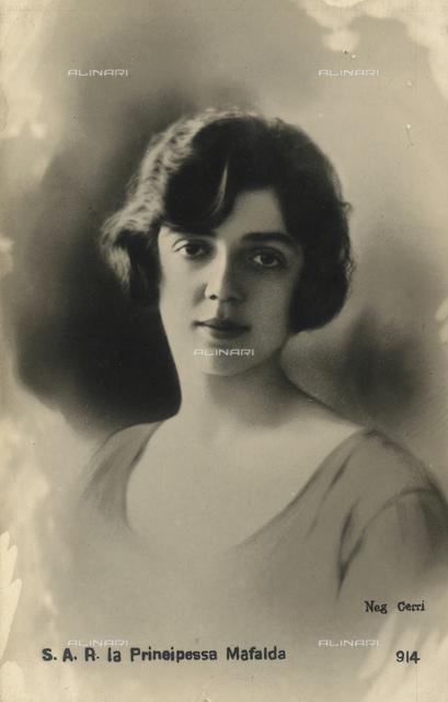 Mafalda of Savoy (1902-1944)