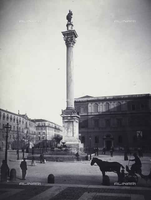 Corinthian column, Piazza Santa Maria Maggiore, Rome
