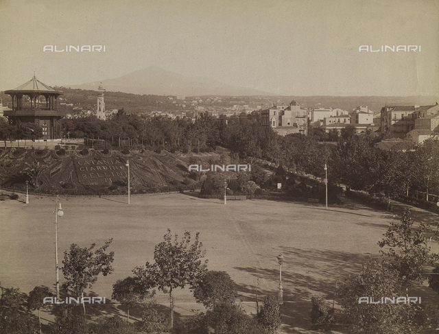 Gardens, Villa Bellini, Catania