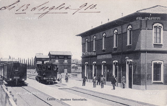 Cento train station