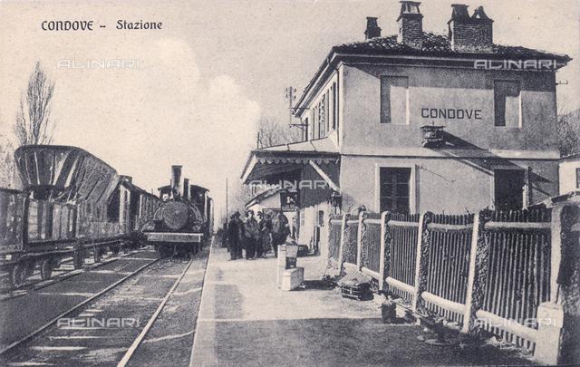 Railway station of Condove