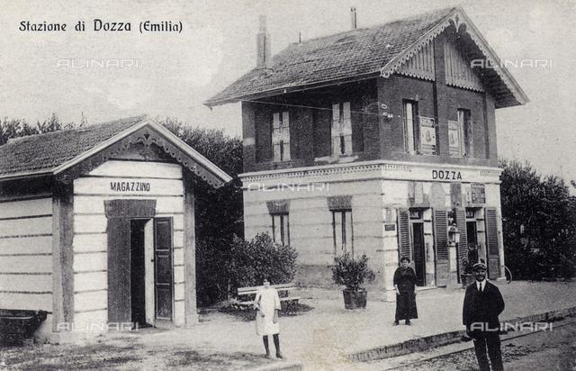 Dozza train station, province of Bologna