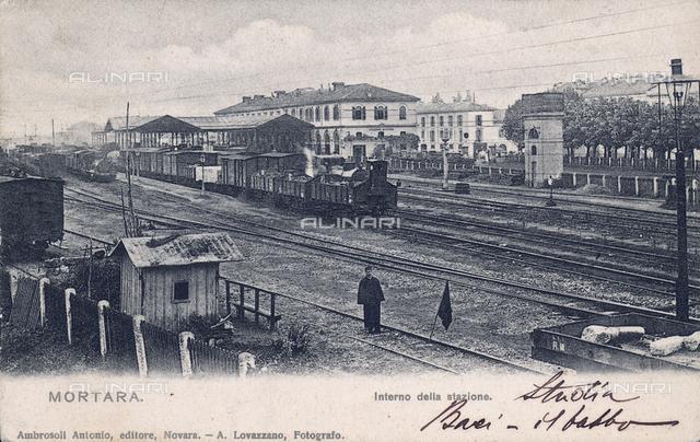 Mortara train station