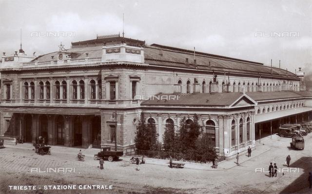 Trieste central station