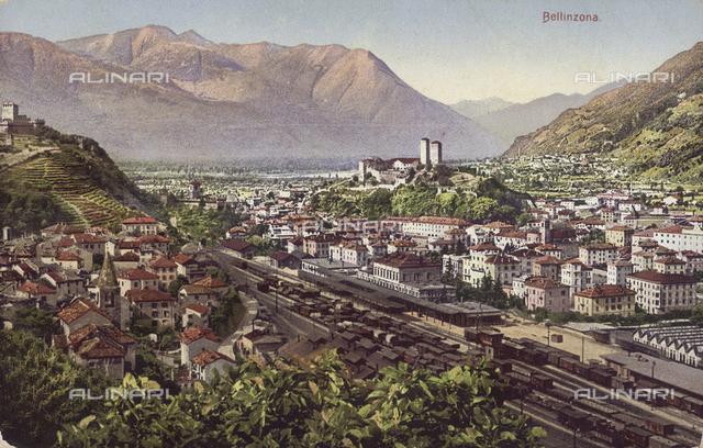 View of Bellinzona, Switzerland