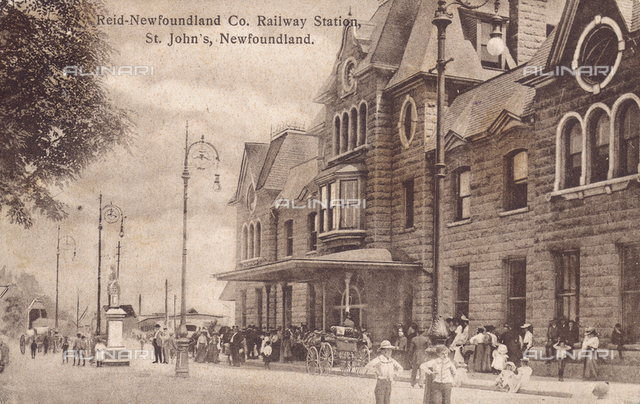 St. John, Newfoundland train station
