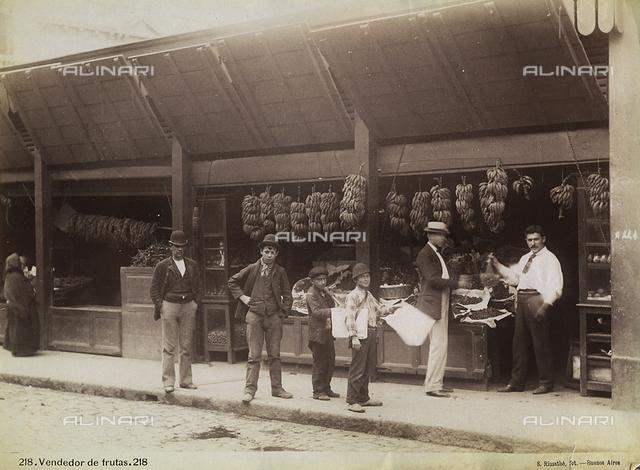 Fruit vendor, Buenos Aires