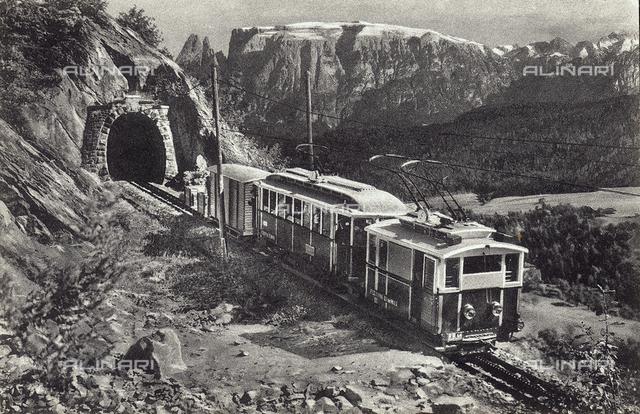 The railway of Renon, Bolzano