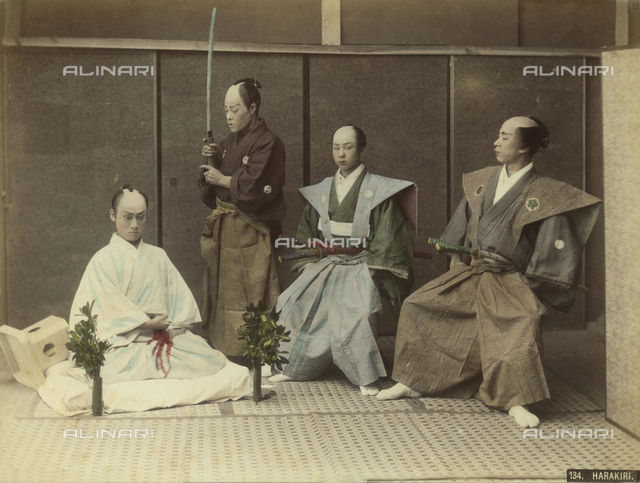 Japanese harakiri group