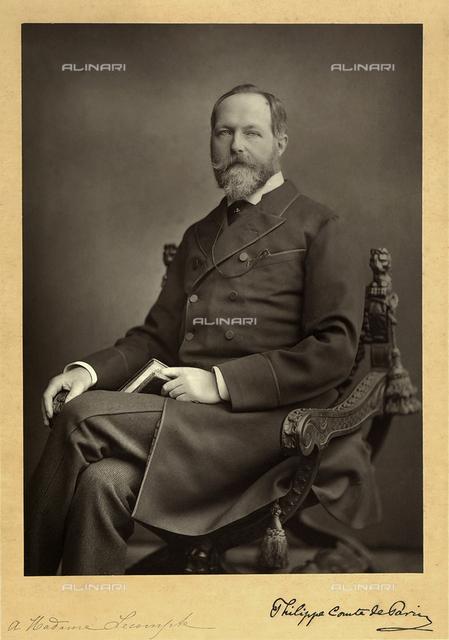 Portrait of Phillippe, Count of Paris