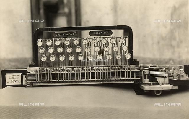 A teleprinter