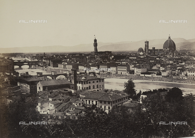 Panorama of the city of Florence