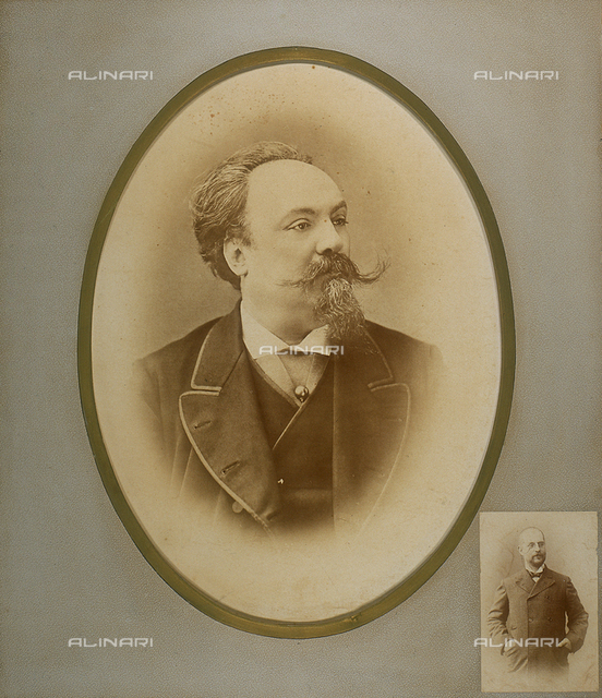 Portraits of Romualdo and Vittorio Alinari
