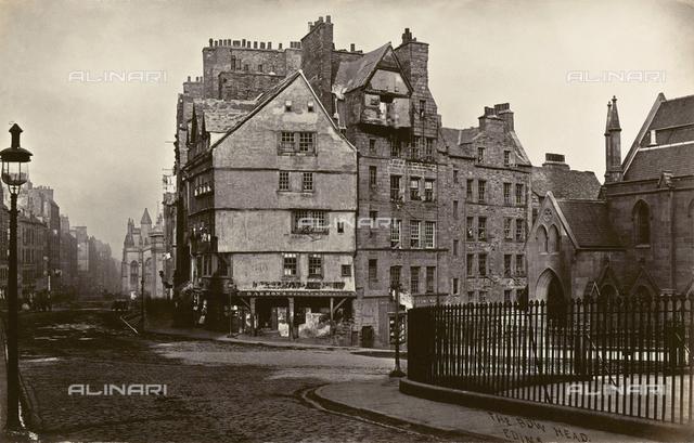 A street in Old Edinburgh