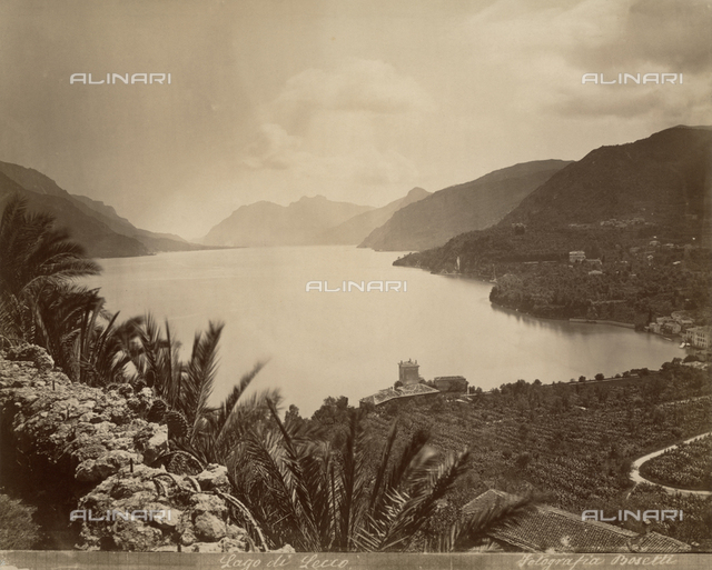 Lake Como seen from Lecco