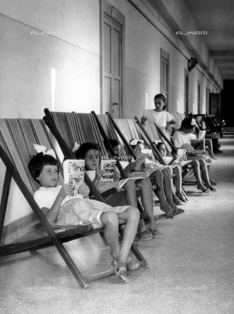 Summer resort in Ostia