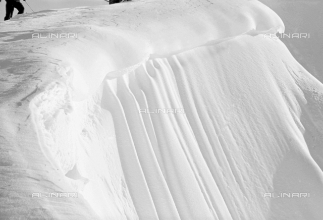 Snow on the mountain, Cortina d'Ampezzo
