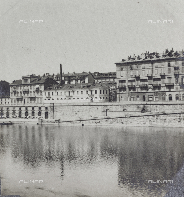 View of the River Po in Turin