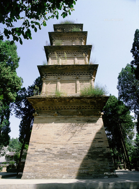 Xingjiao Temple was founded in AD 669 by the Tang Emperor Gao Zong.  It was destroyed and rebuilt several times. Country of Origin: China. Place of Origin: Xian, Shaanxi province.