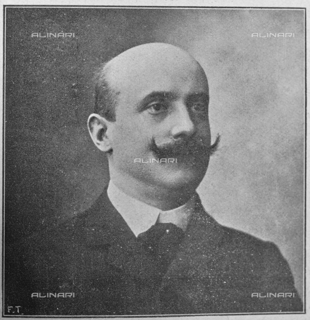 "The war on the French front: the former President of the French Council Caillaux accused of attack on the homeland. Photography taken from the magazine ""L 'Illustration Italian"" of December 23, 1917, n. 51, page 535"