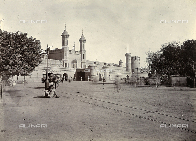 The railway station in Lahore, Pakistan