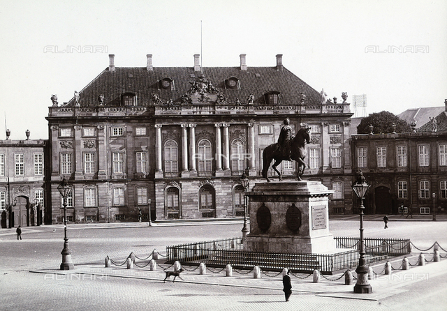 The Imperial Palace in Copenhagen
