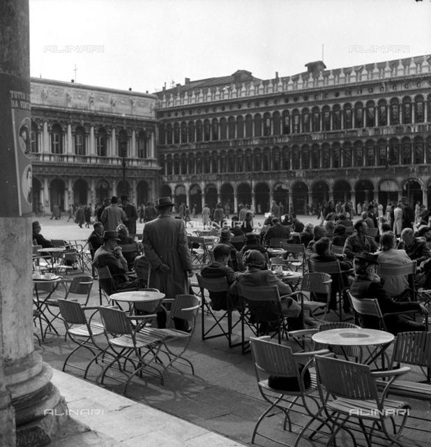 The Procuratie Vecchie in Piazza San Marco, Venice