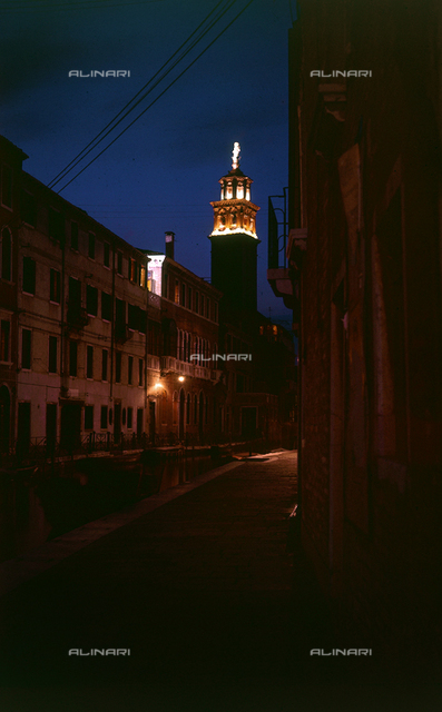 Night view of Venice
