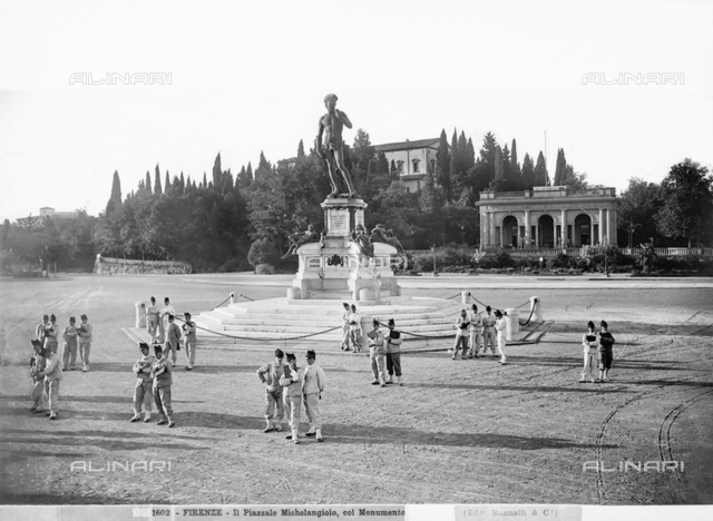 Monument to Michelangelo, Piazzale Michelangelo, Florence