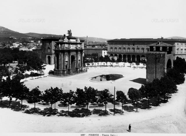 Triumphal Arch of Francesco Stefano di Lorena, Florence