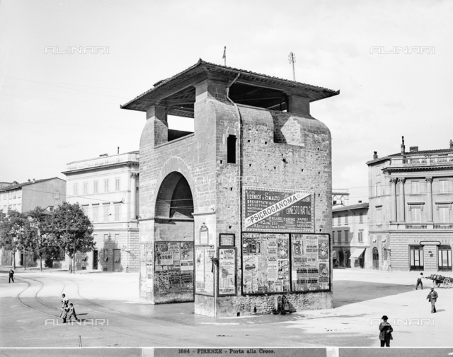 The Gate of Santa Croce, Florence.