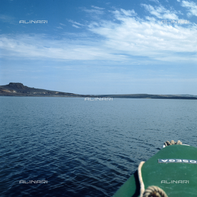The Turkana lake (previously called Lake Rudolf)