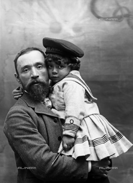 Michetti and his son Giorgio
